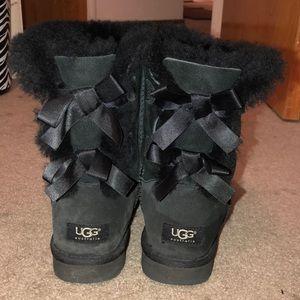 Black Uggs, Size 8